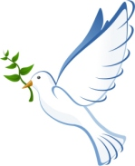peace dove from free clip art website